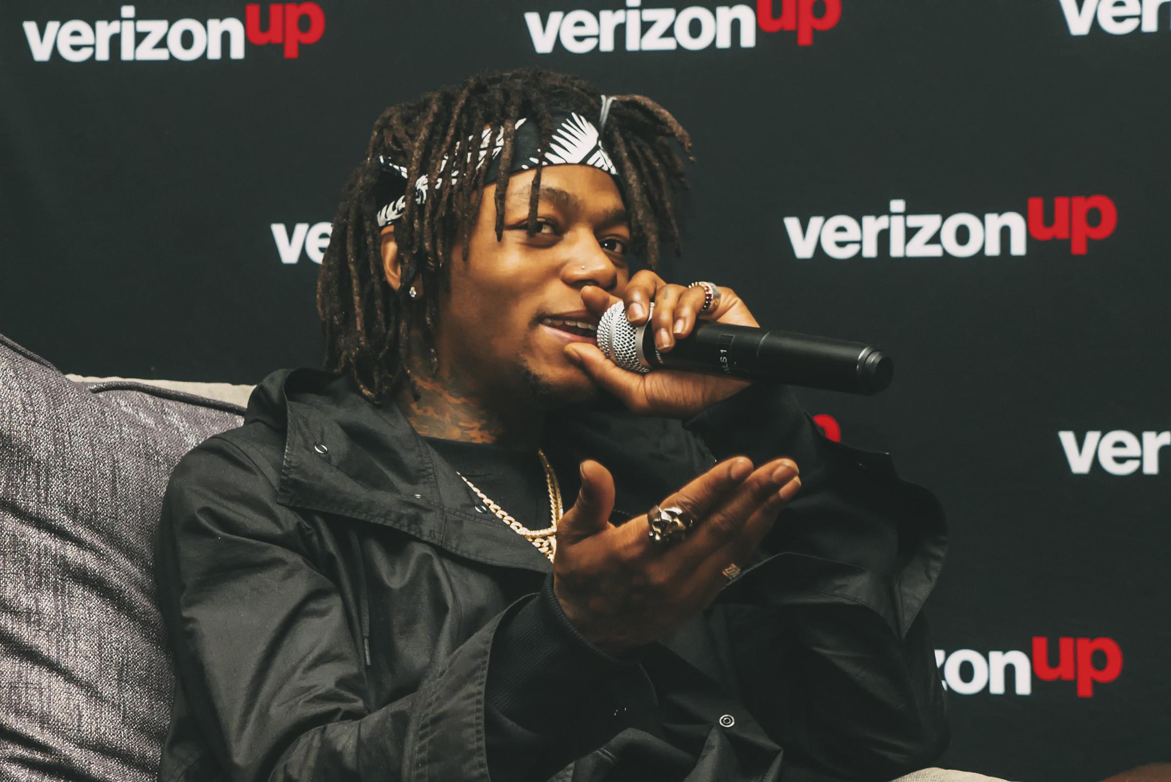 JID Verizon Up Event Atlanta
