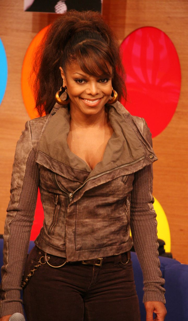 Janet Jackson Appears on BET's 106 & Park in 2006