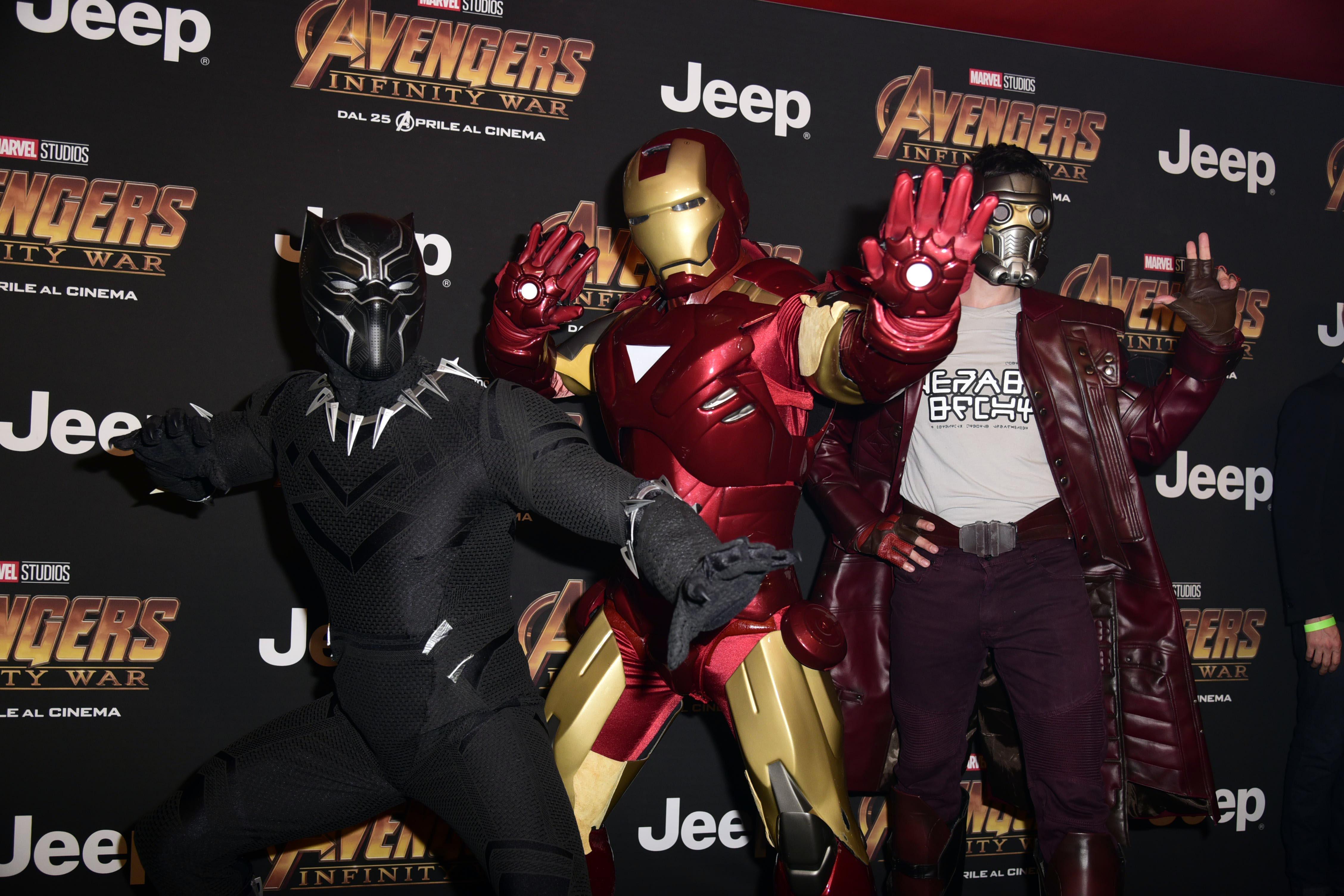 'Avengers: Infinity War' - Premiere