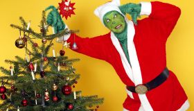GEEK ART: The Grinch and a Who Bodypainting