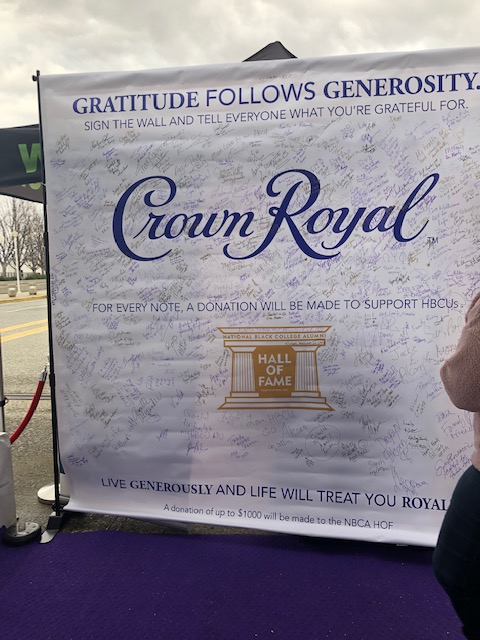 Atlanta Crown Royal #HBCULove Tailgate
