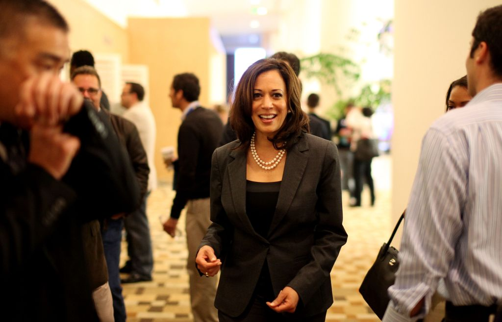 USA - Politics - California Attorney General Kamala D. Harris at the California Democratic Convention
