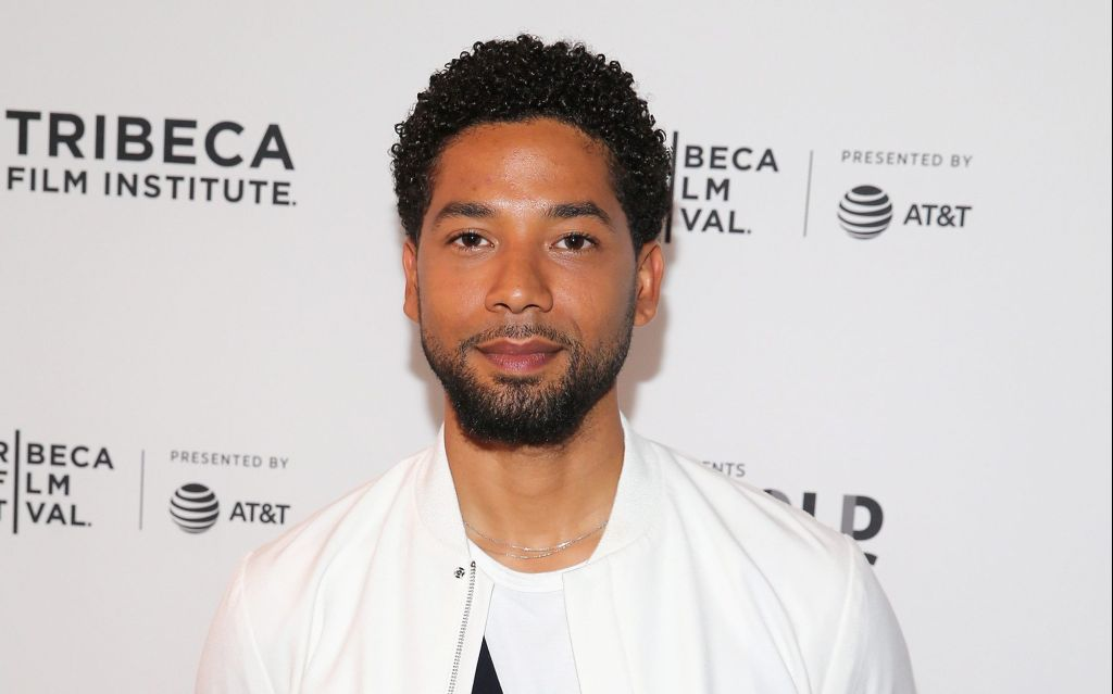 jussie smollett gets support after suffering racist homophobic attack