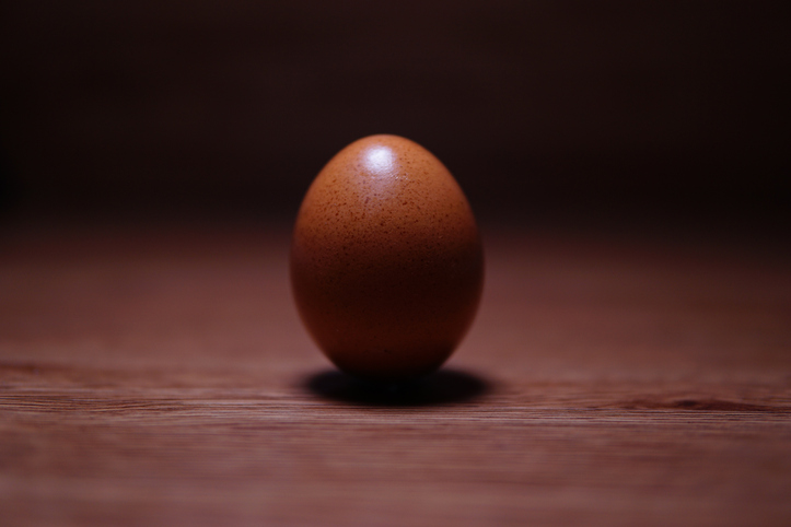 Close-Up Of A Ball On Table