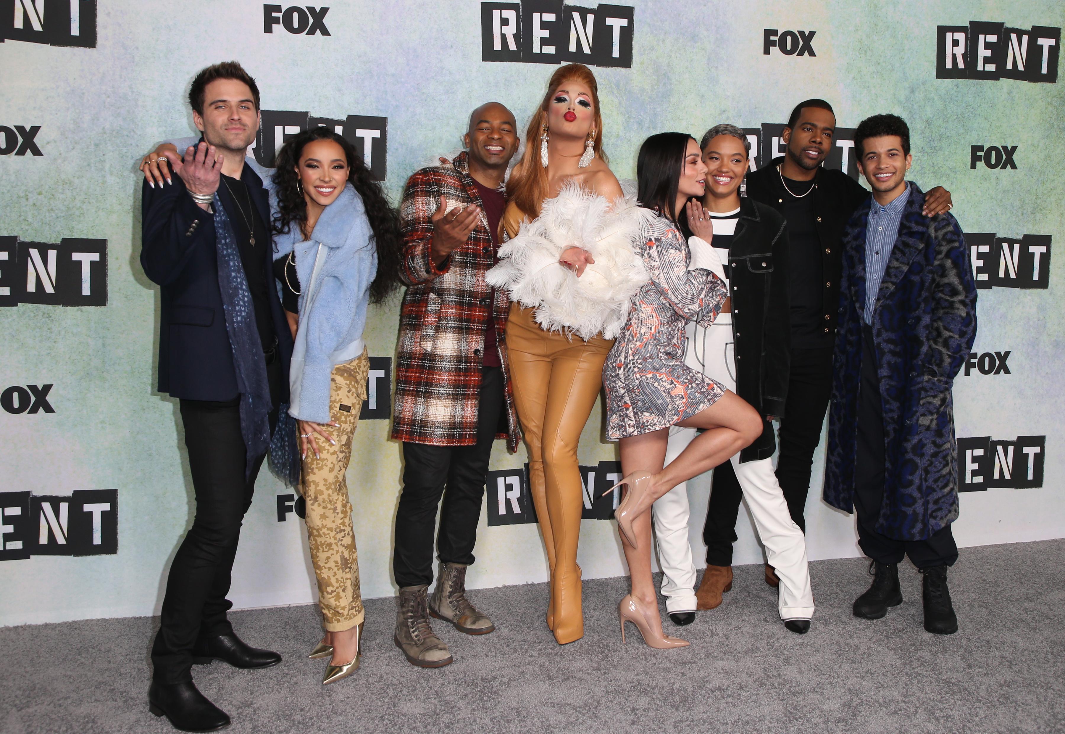 "FOX Hosts ""RENT"" Press Junket"