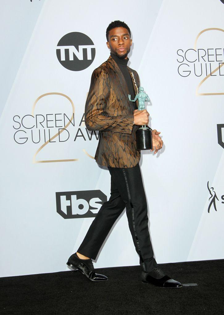 Chadwick Boseman at SAG Awards