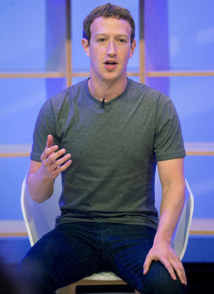 Facebook CEO Mark Zuckerberg in Berlin