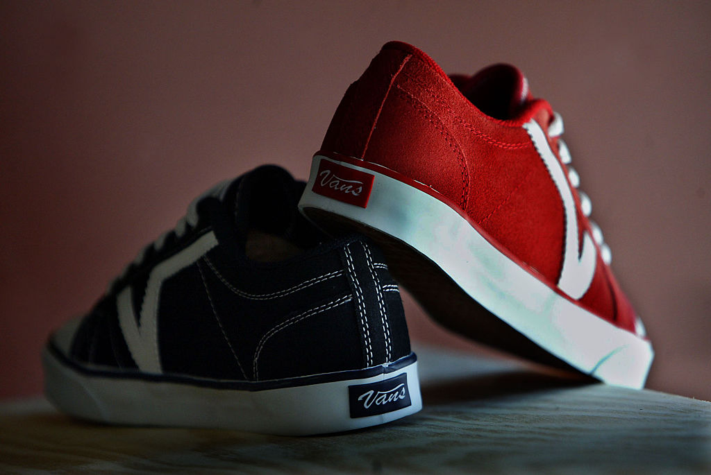 Photo of vans shoes. Jeans maker VF Corp. agreed to buy youth sportswear maker Vans Inc for about 96