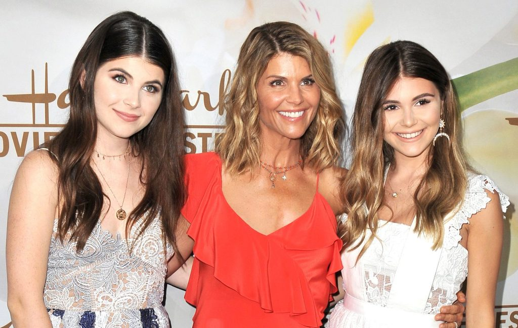 Lori Loughlin, Isabella Rose Giannulli, and Olivia Jade Giannulli