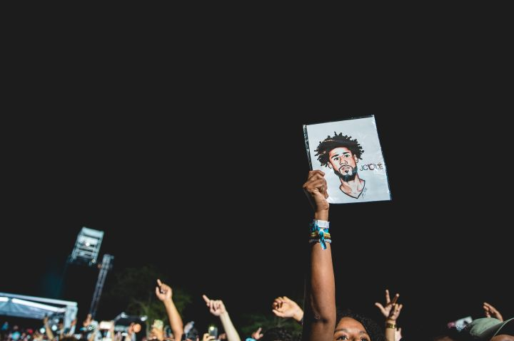 Fans at Dreamville Festival 2019