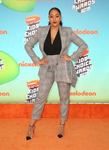 Tia Mowry at Nickelodeon's Kids' Choice Awards 2019