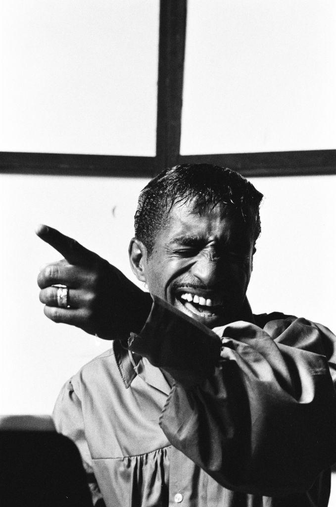 Sammy Davis Jr In The Studio