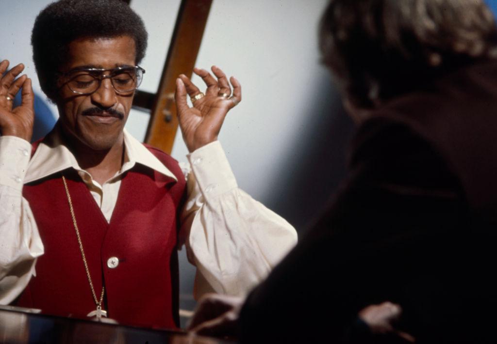 Sammy Davis Jr Appearing On 'Chevrolet Presents Burt Bacharach'