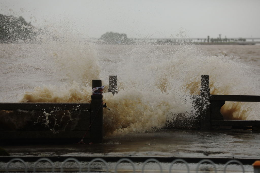 Typhoon Wipha Lands On Hainan