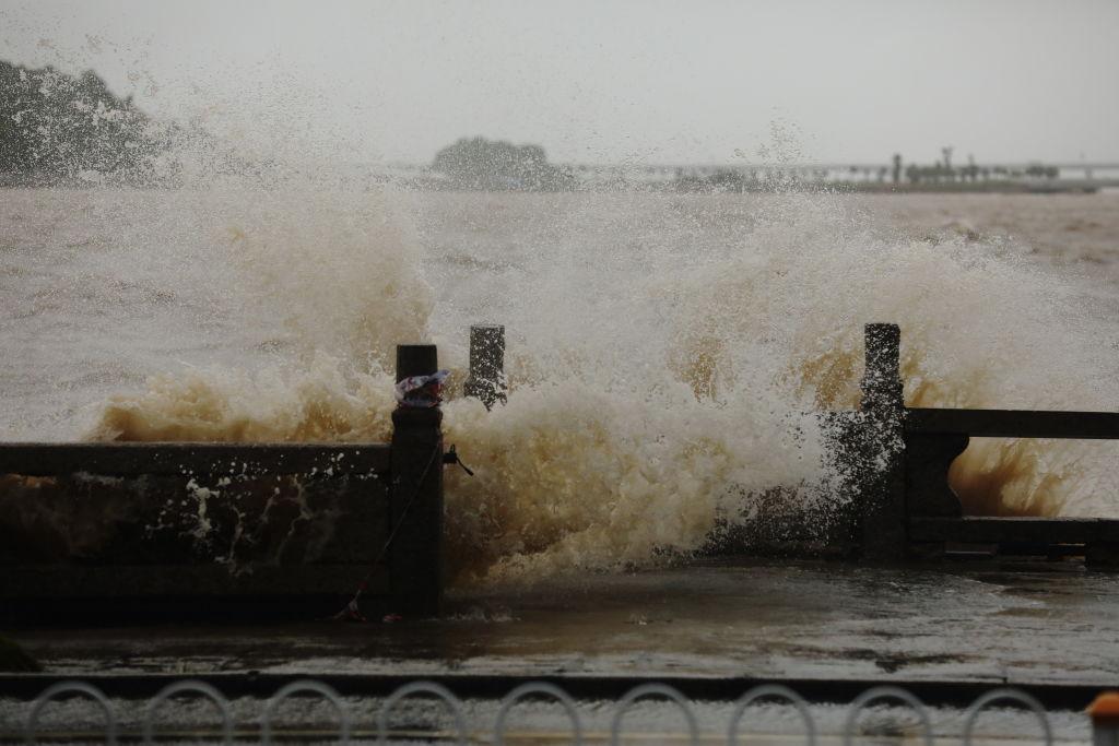 Typhoon Wipha Lands On Hainan