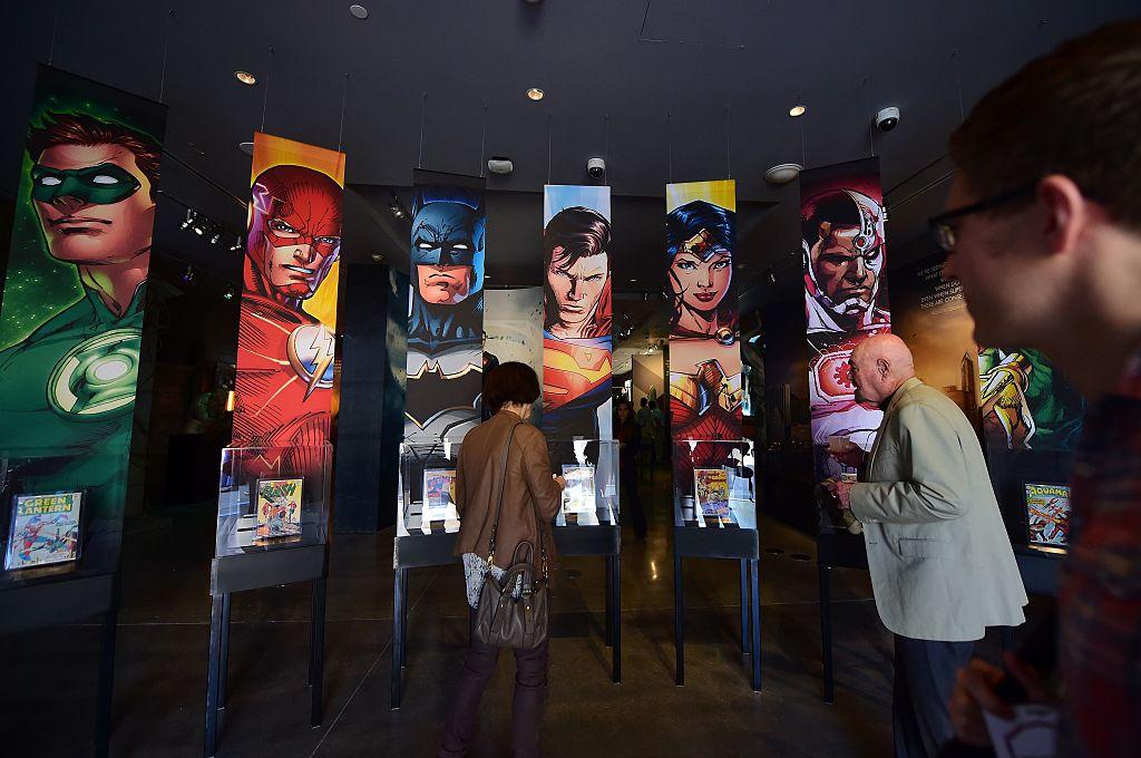 US-ENTERTAINMENT-COMICS-WARNER-DC UNIVERSE