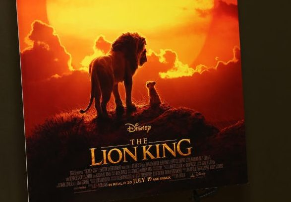 """Broadway Cast Of """"The Lion King"""" Celebrates Motion Picture Release"""