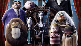 The Addams Family cartoon poster