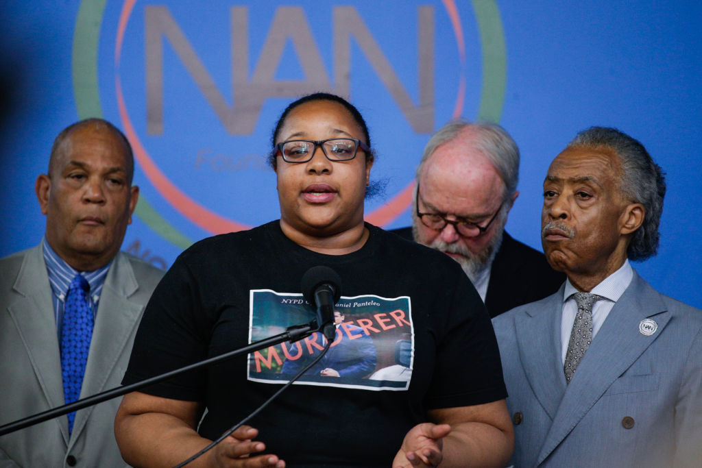 Eric Garner's Family Reacts To NYPD Decision About Police Officer Pantaleo