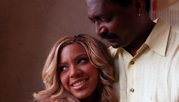 Beyonce Knowles (lead singer, key somgwriter) and her father Mathew Knowles (manager) of the pop tri