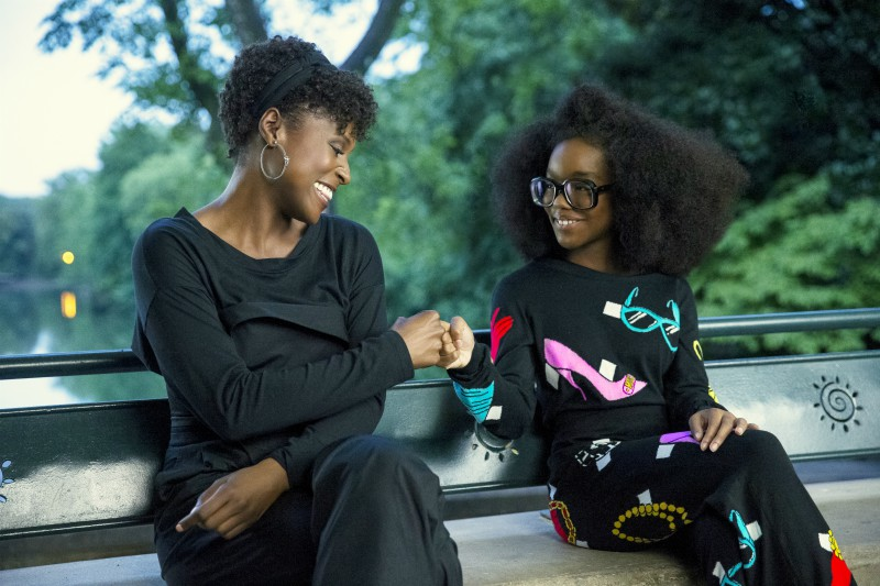 Issa Rae and Marsai Martin