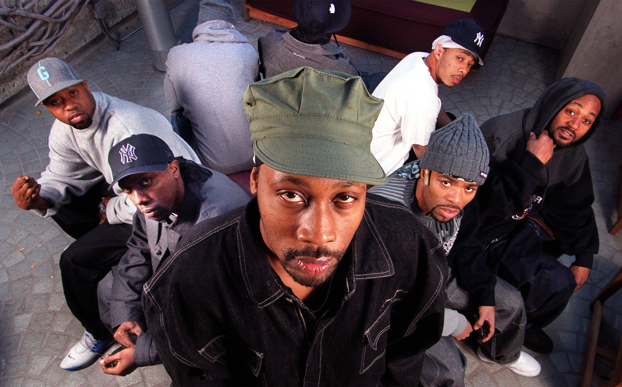 A profile of RZA, rapper–producer and leader of many membered rap group the Wu–Tang Clan. Photo of R