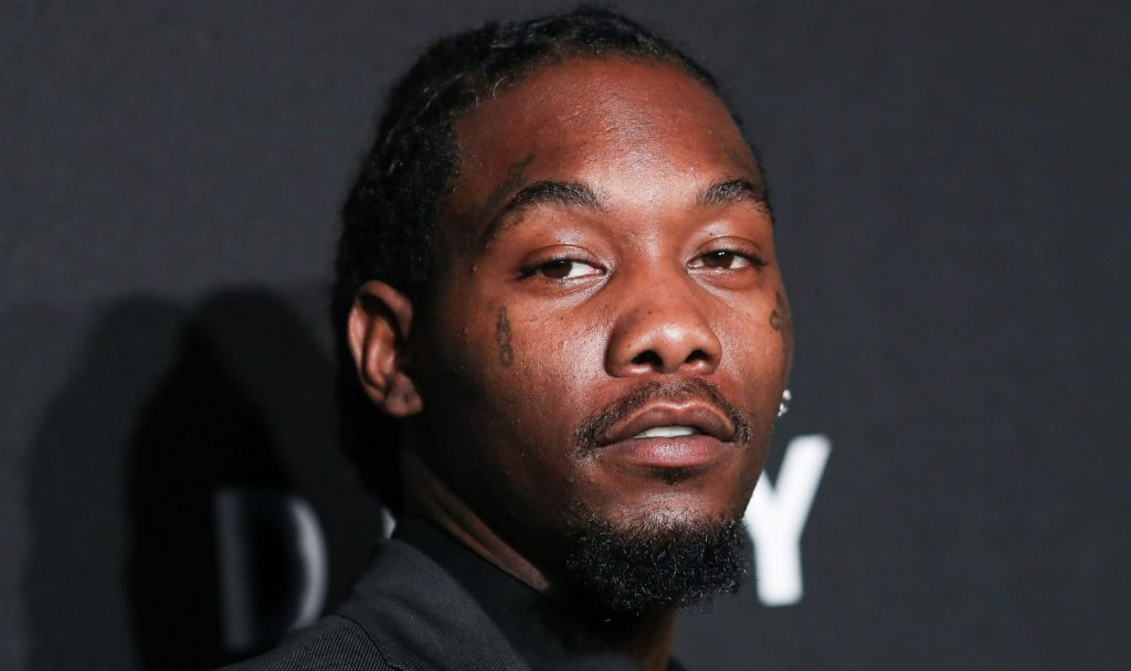 Offset arrives at the DKNY 30th Birthday Party Celebration held at St. Ann's Warehouse on September 9, 2019 in Brooklyn, New York City, New York, United States.