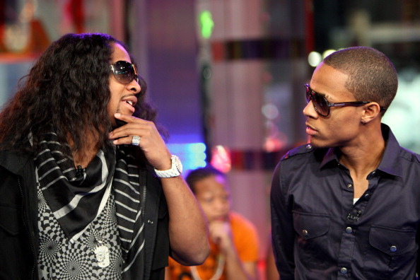 """Will Smith, Bow Wow and Omarion Visit MTV's """"TRL"""" - December 11, 2007"""