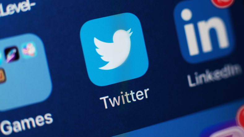 Twitter App Icon on smartphone screen