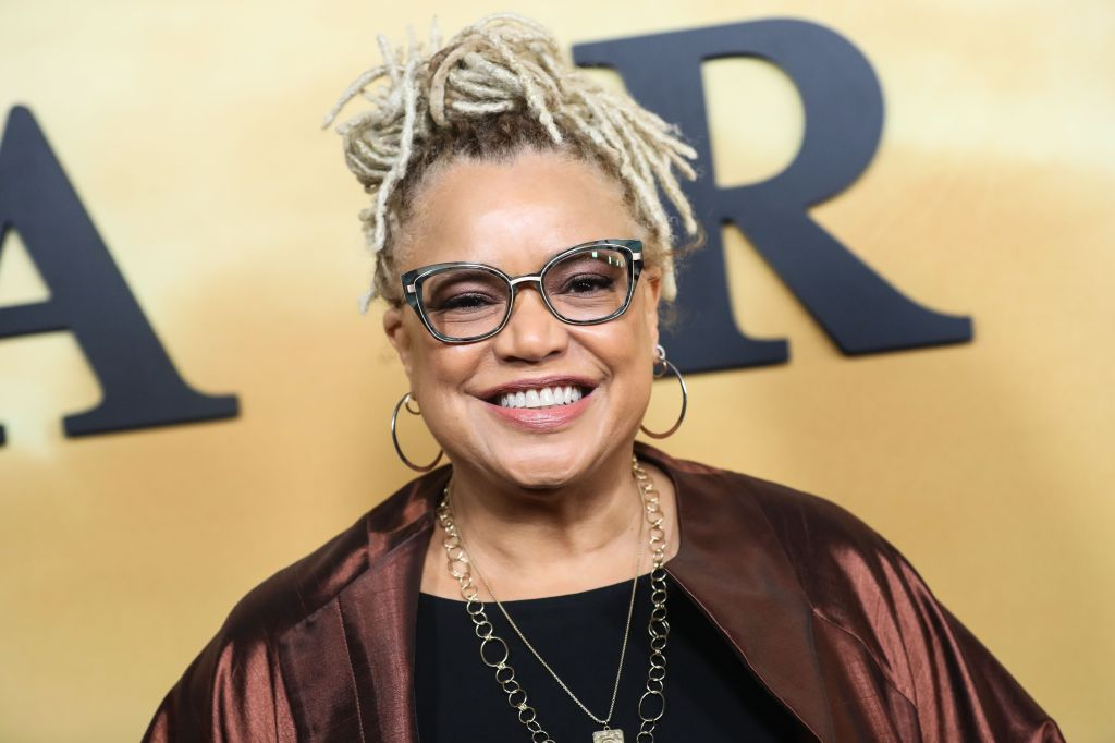 Director Kasi Lemmons arrives at the Los Angeles Premiere Of Focus Features' 'Harriet' held at The Orpheum Theatre on October 29, 2019 in Los Angeles, California, United States.