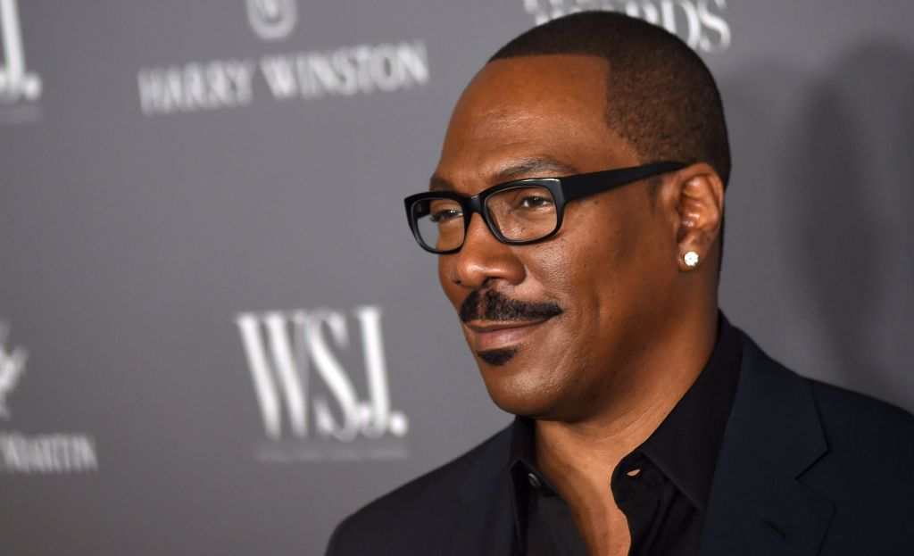 Eddie Murphy at arrivals for Wall Street...