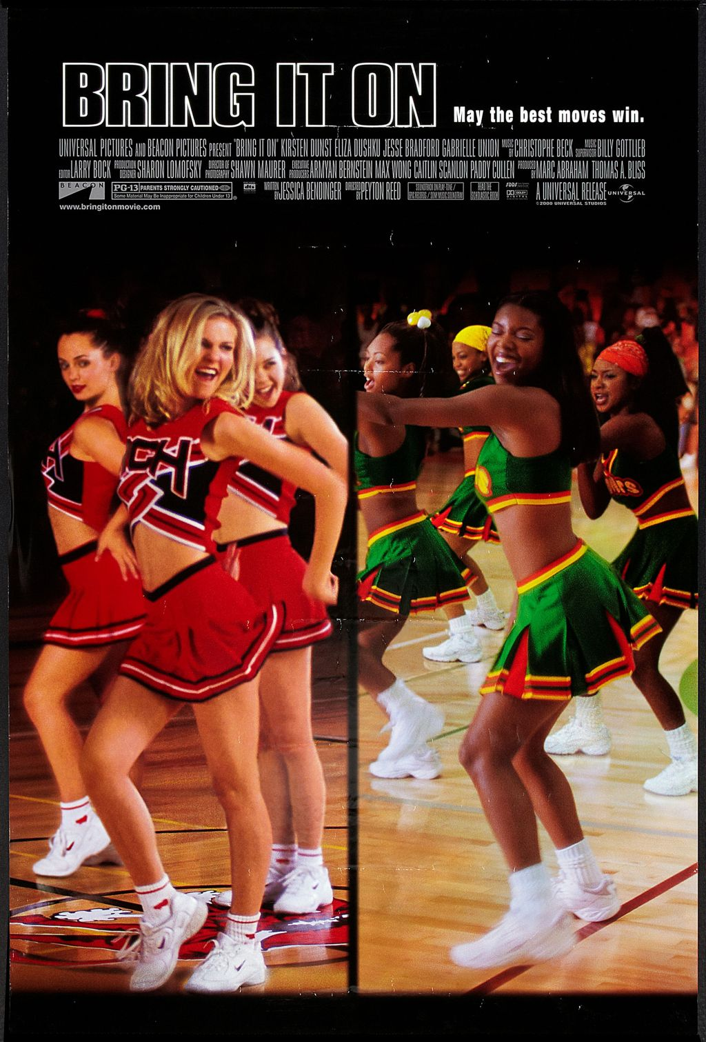 Movie Poster For 'Bring It On'