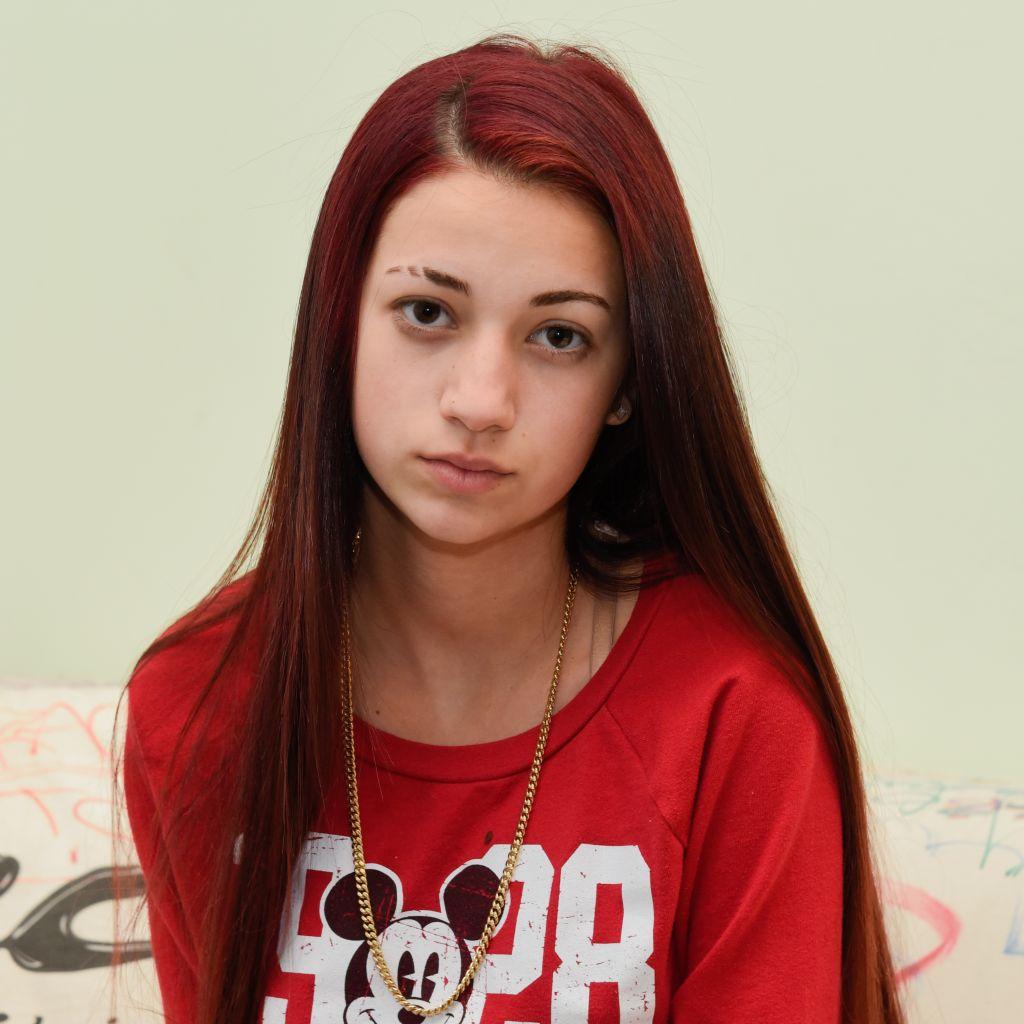 Danielle Bregoli aka The Cash Me Outside Girl Visits Music Choice