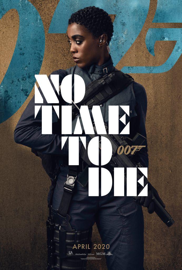 No Time To Die Posters Of Lashana Lynch, Daniel Craig, Rami Malek and Ana De Armas