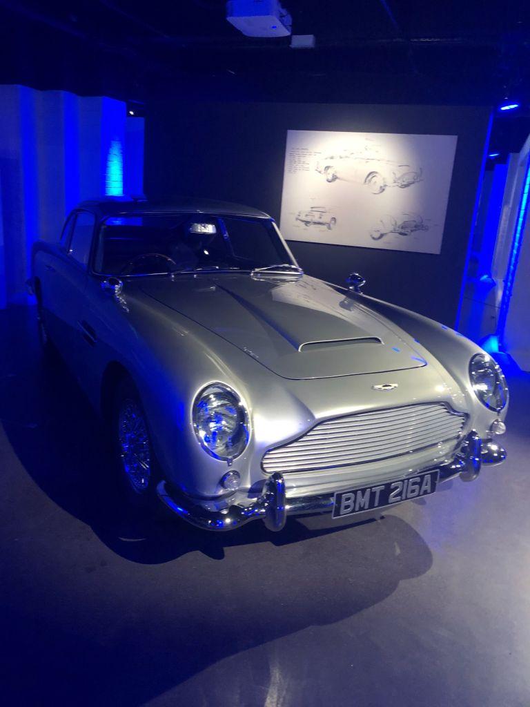 James Bond Set Visit