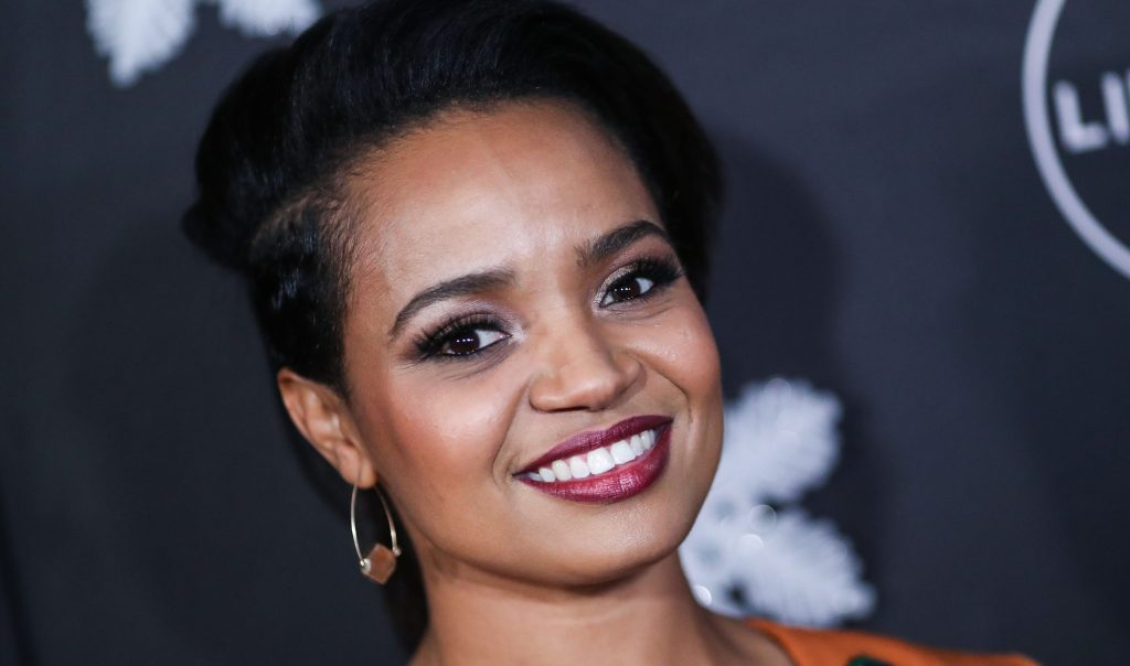 Actress Kyla Pratt arrives at the 'It's A Wonderful Lifetime' Holiday Party held at STK Los Angeles at W Los Angeles - West Beverly Hills on October 22, 2019 in Westwood, Los Angeles, California, United States.