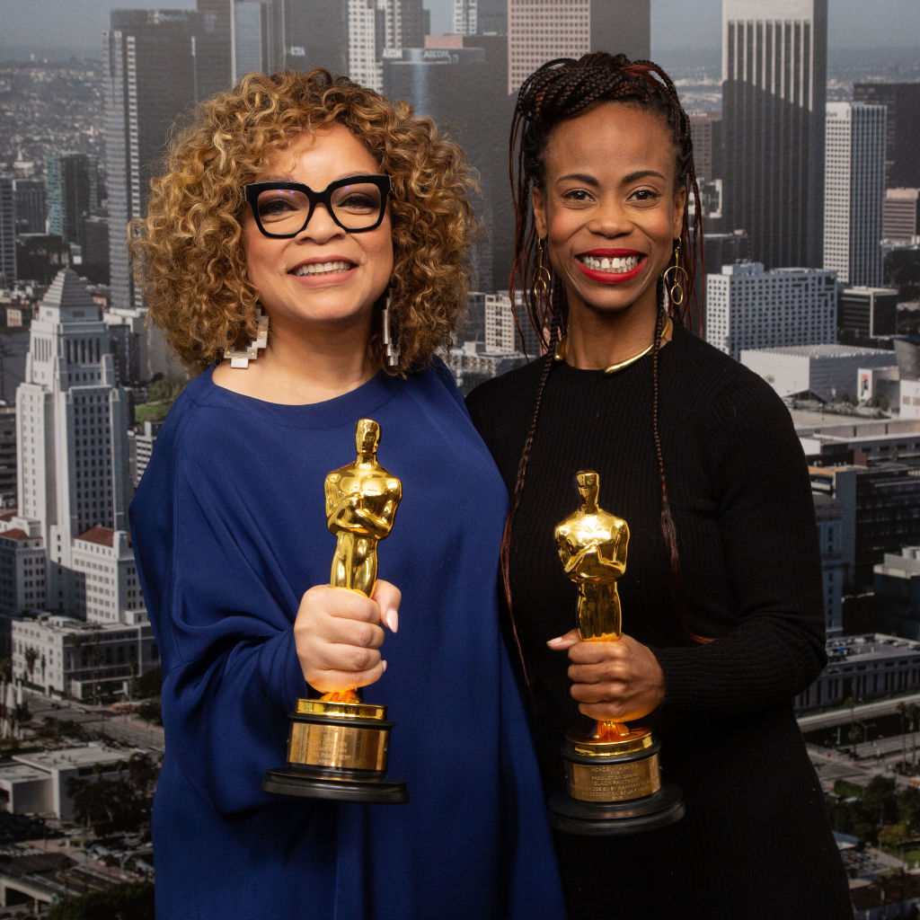 """L.A. City Council President Herb Wesson Honors Oscar Winners Ruth E. Carter And Hannah Beachler For Their Work In """"Black Panther"""""""