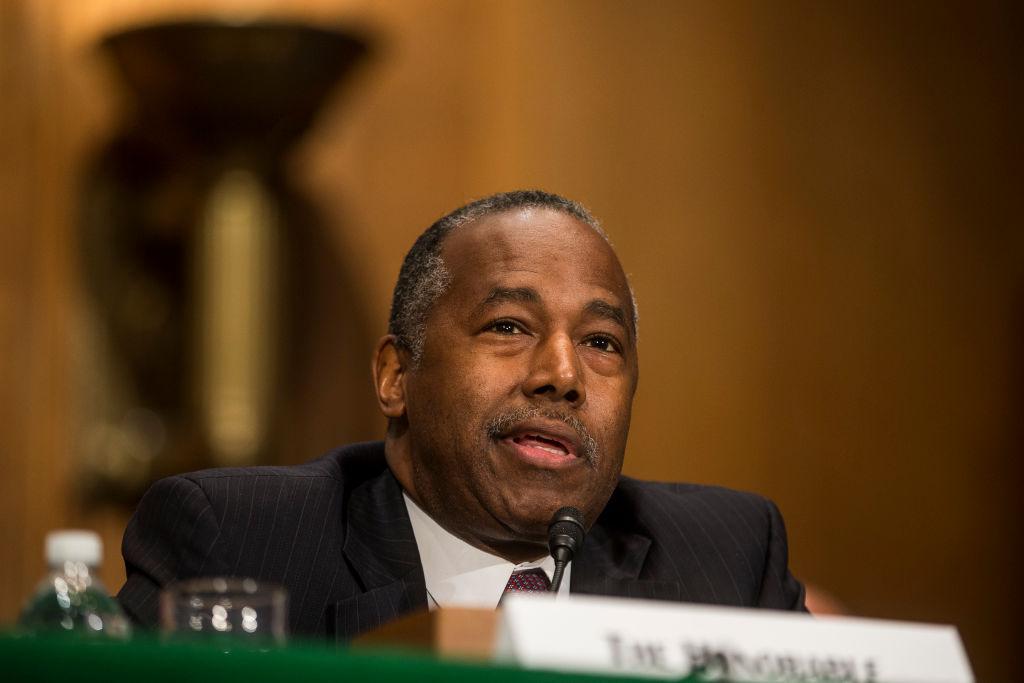 Treasury Secretary Mnuchin And HUD Secretary Carson Testify Before The Senate Banking, Housing and Urban Affairs Committee