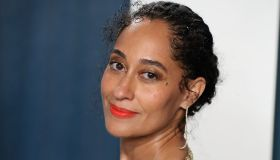 Tracee Ellis Ross arrives at the 2020 Vanity Fair Oscar Party held at the Wallis Annenberg Center fo...