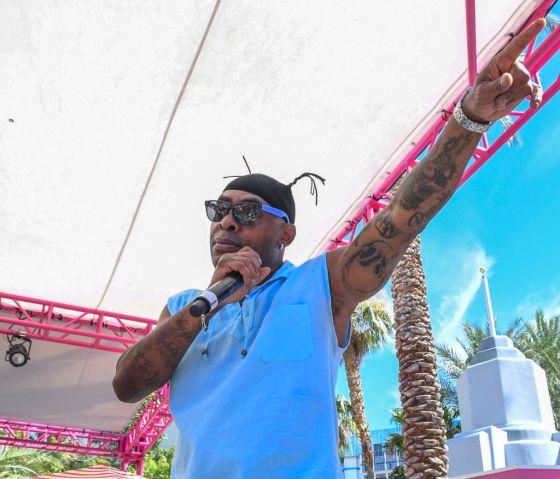 Coolio Performs At Flamingo Go Pool Dayclub In Las Vegas