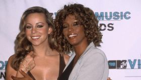 Whitney Houston and Mariah Carey attending the 1998 MTV Video Music Awards in Hollywood, Ca.