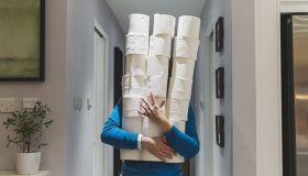 Coronavirus Panic Buying Causes Fights Over Toiler Paper And Lines Stretched To Infinity