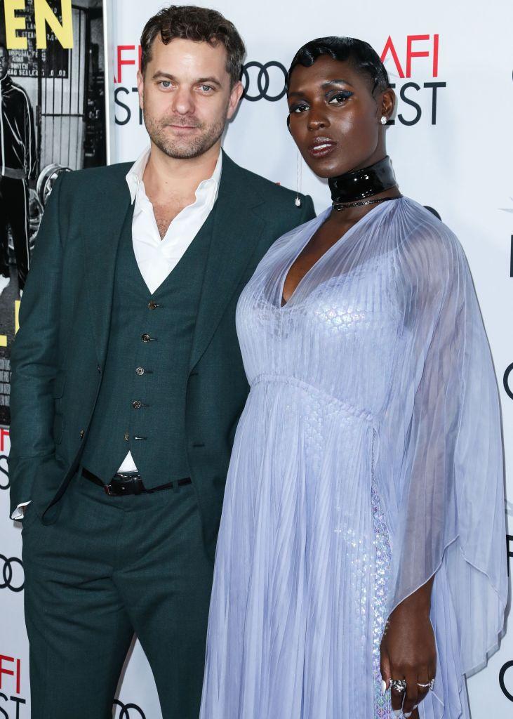 Jodie Turner-Smith and Joshua Jackson 2019