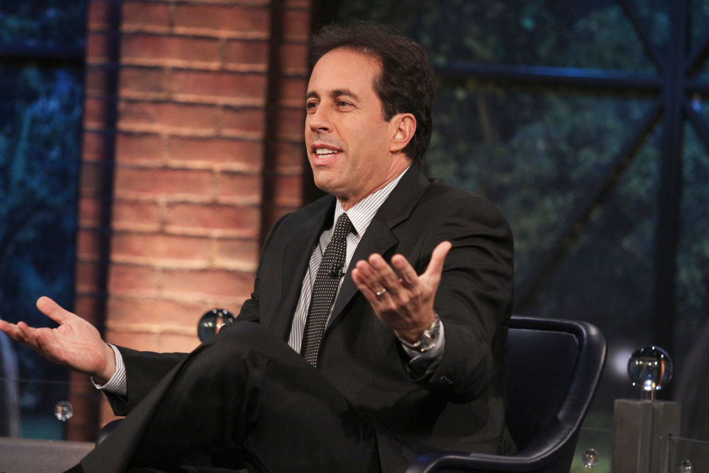 Bill Tompkins Jerry Seinfeld The Marriage Ref Archive