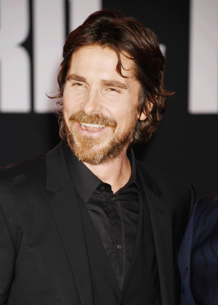 """Christian Bale at the Premiere of FOX's """"Ford V Ferrari"""" at TCL Chinese Theatre in Hollywood"""