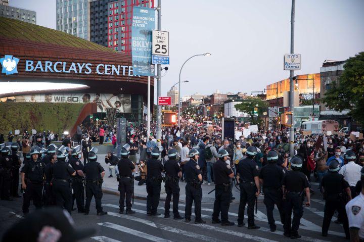 U.S.-NEW YORK-PROTEST