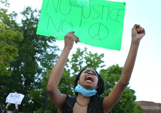 Several Peaceful Protests in Boston Call For Justice