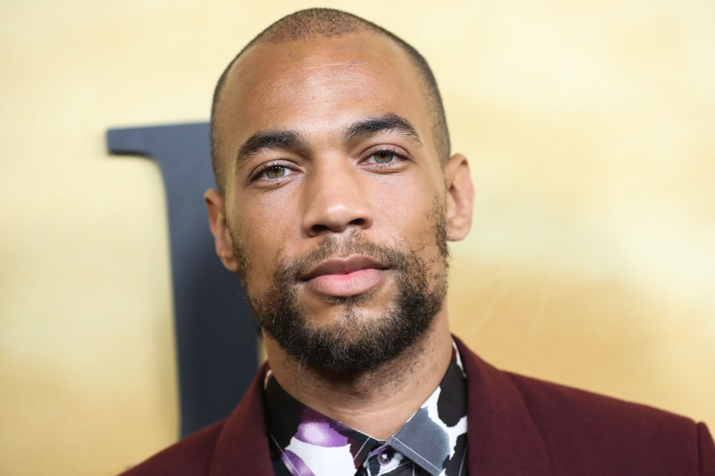 Actor Kendrick Sampson arrives at the Los Angeles Premiere Of Focus Features' 'Harriet' held at The Orpheum Theatre on October 29, 2019 in Los Angeles, California, United States.