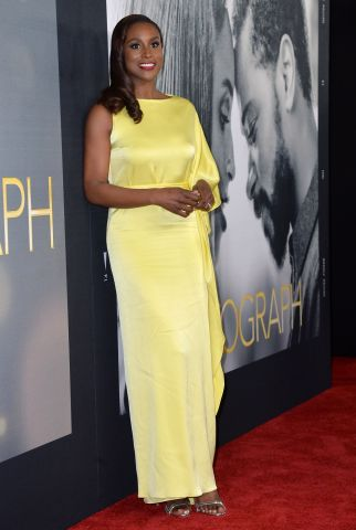 Issa Rae at arrivals for THE PHOTOGRAPH...