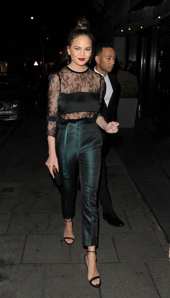 London Celebrity Sightings - October 21, 2016